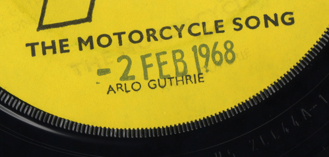 "A Cultural History of ""The Motorcycle Song"" by Arlo Guthrie  Misao Dean"
